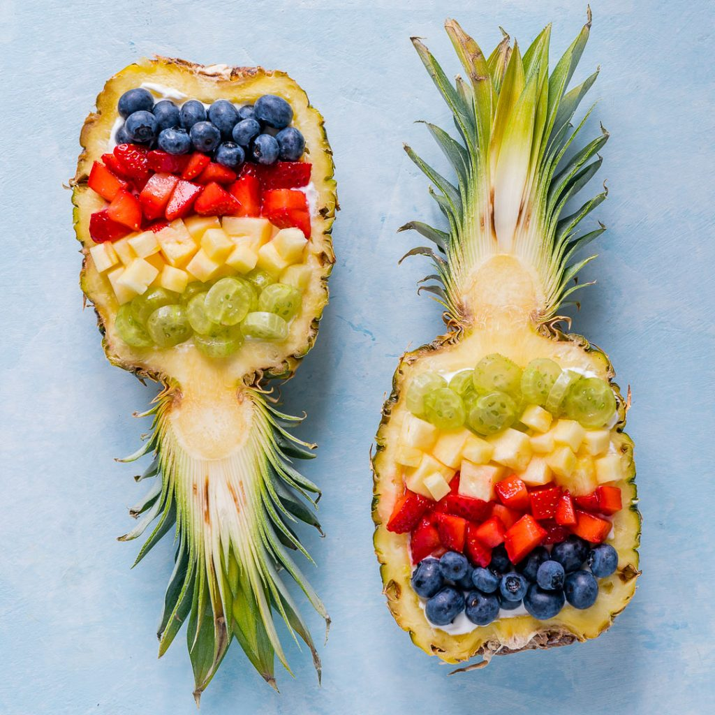 Super Creative Pineapple Breakfast Bowls For Clean