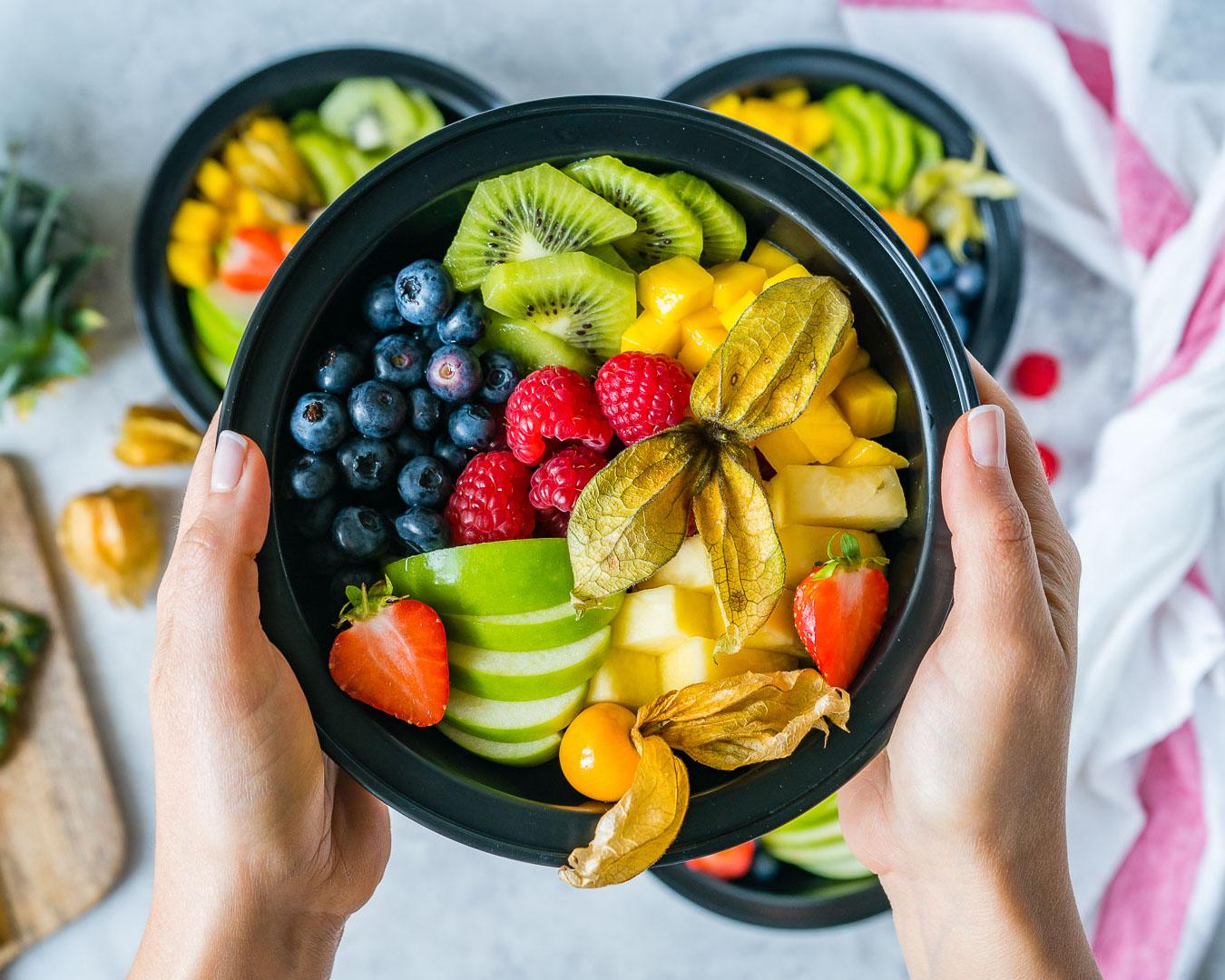 Healthy Back to School Fruity Bento Box
