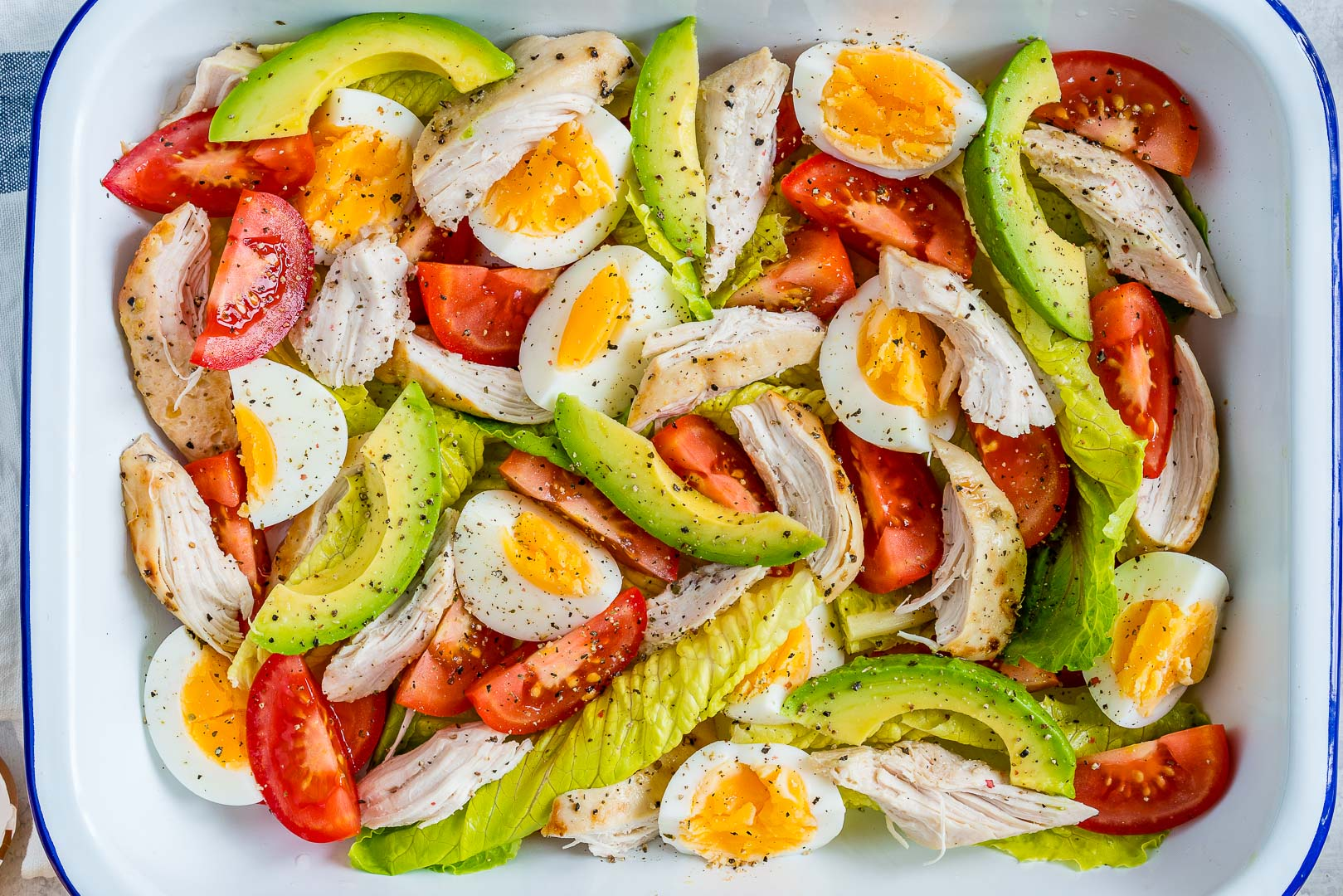 Chicken Avocado + Egg Salad