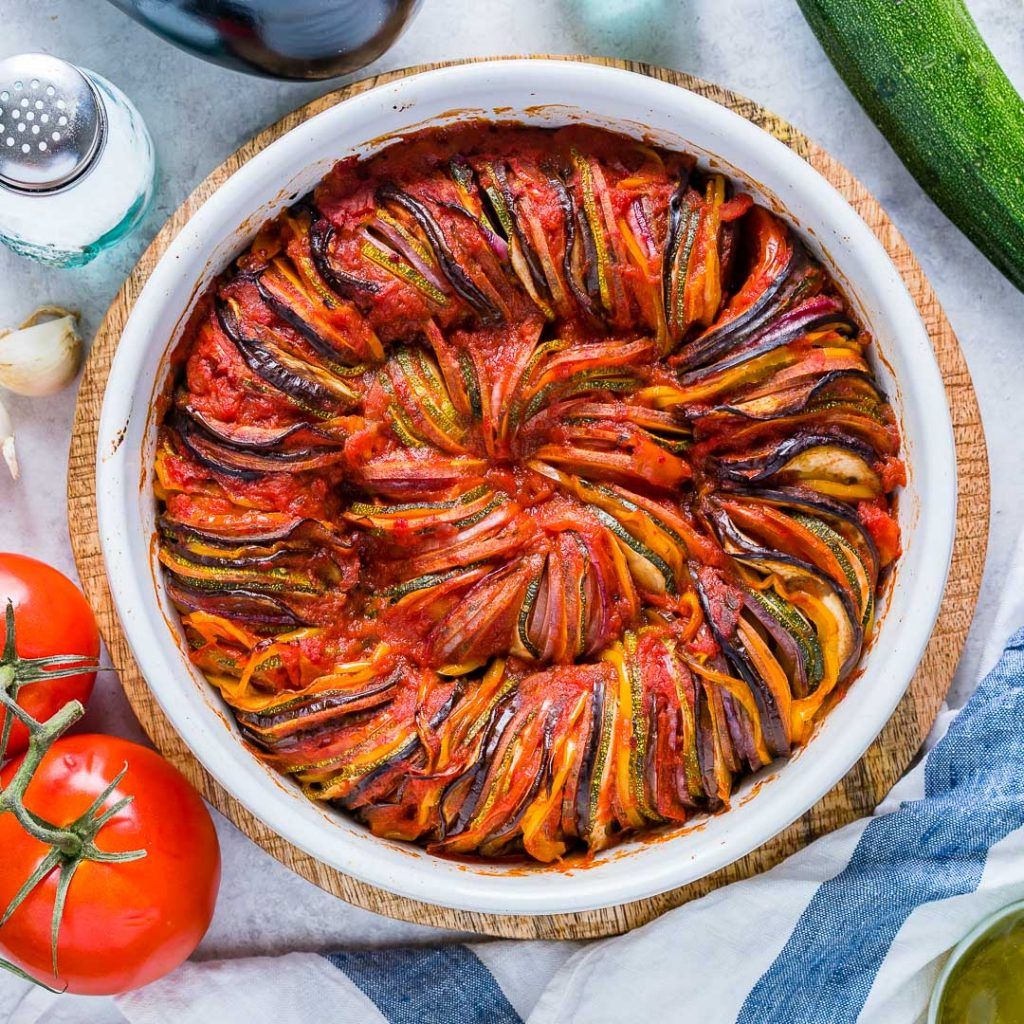 Clean Food Classic Summertime Ratatouille