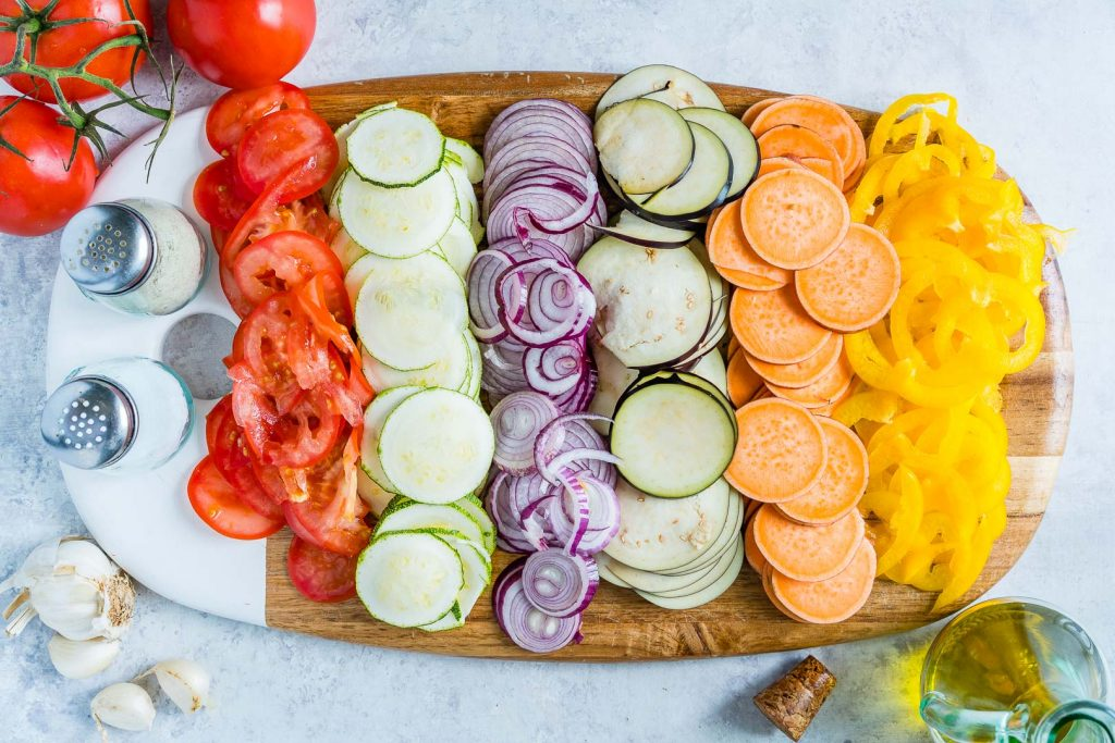Creative and Colorful Summertime Ratatouille