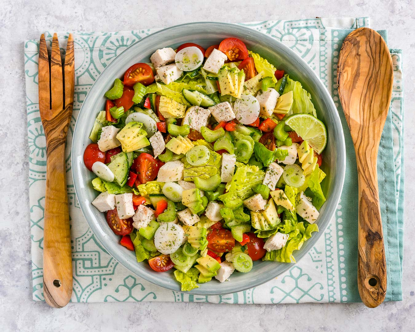 Clean Eating Chop-Chop Chicken Salad