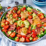 Clean Eating Fresh BLT Skillet