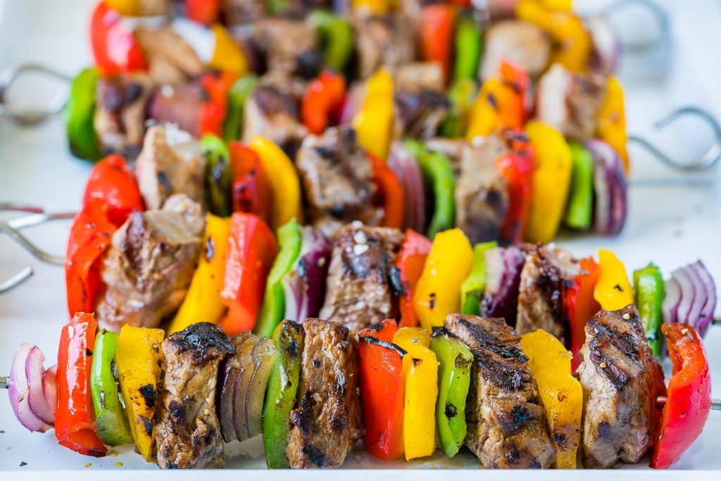 Fajita Steak Skewers Recipe