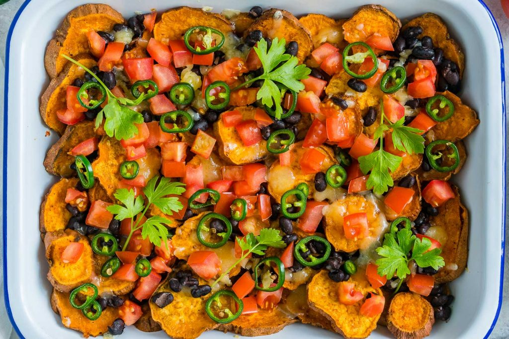 Creative Loaded Sweet Potato Nachos
