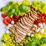Eat Clean Chicken Caprese + Balsamic Dressing Recipe