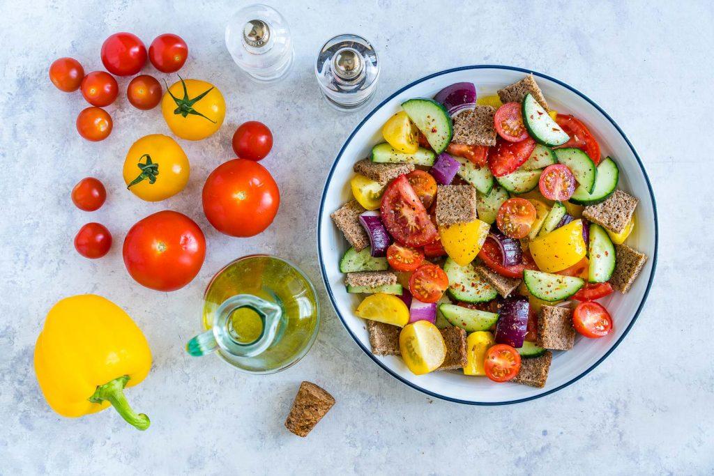 Garden Fresh Gazpacho Salad