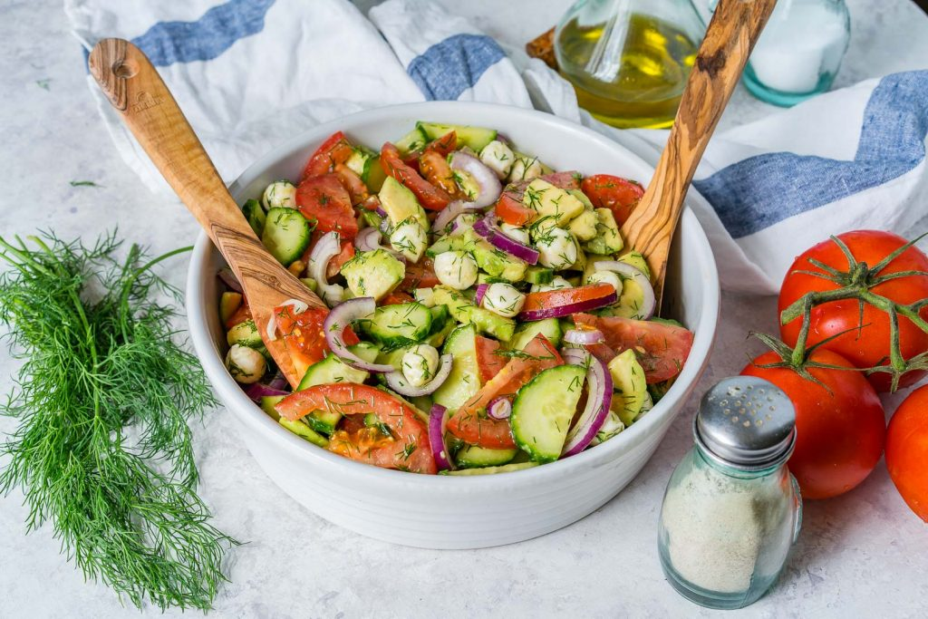 One Bowl Fresh Summertime Italian Chopped Salad