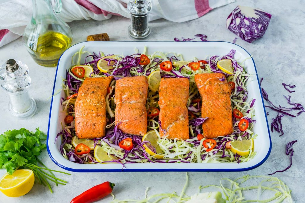 Honey Lime Salmon Tangy Cabbage Recipe Ingredients