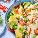 Thai Cucumber + Mango Salad CleanFoodCrush