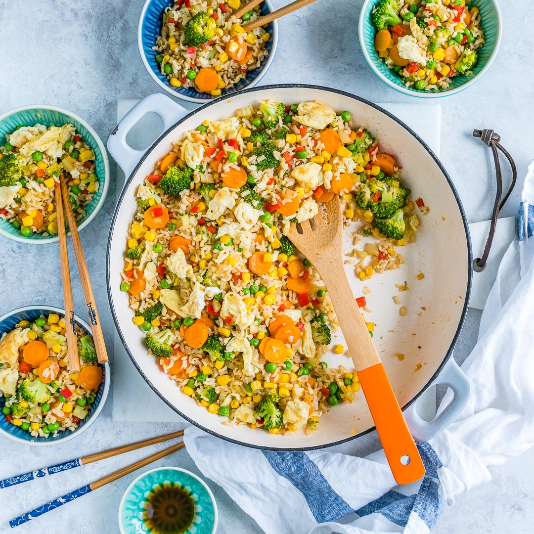 Meatless monday veggie packed fried rice clean food crush clean eats veggie packed fried rice clean food love forumfinder Choice Image