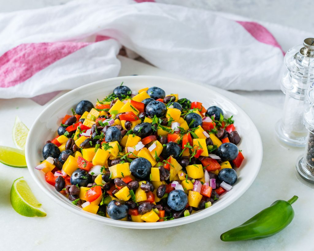 Best Mango Blueberry Salsa