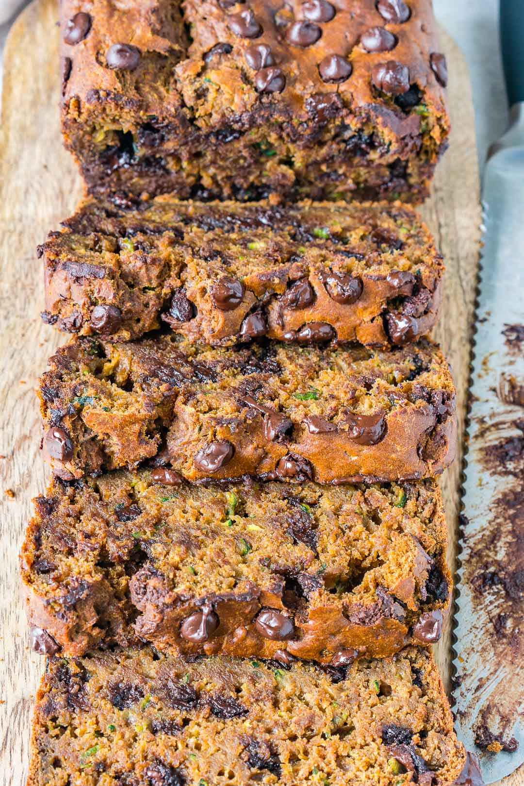 Chocolate Pumpkin Spice Zucchini Bread Snacks