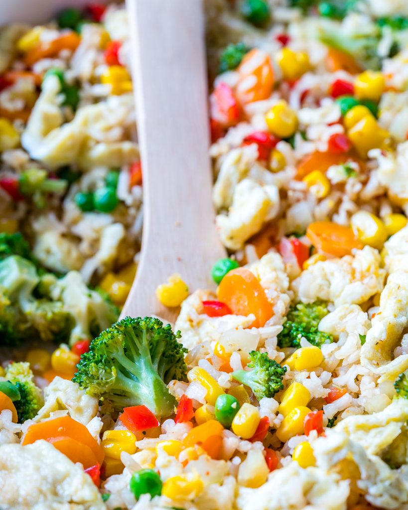 Meatless monday veggie packed fried rice clean food crush veggie packed fried rice dinner ideas forumfinder Choice Image