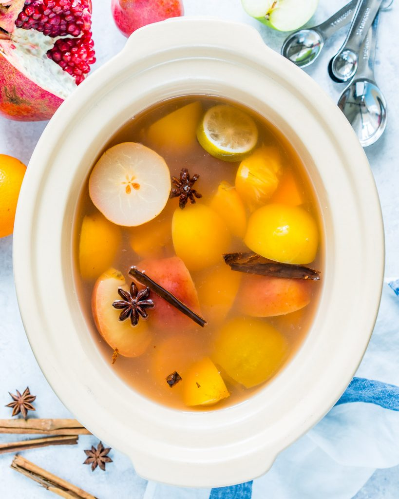 Healthy Crock pot Homemade Cider