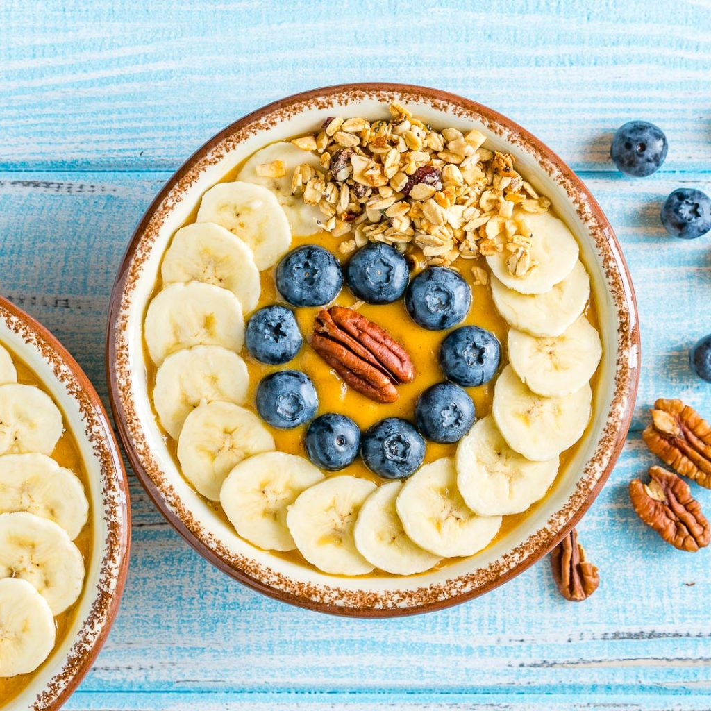 Best Pumpkin Pie Smoothie Bowls
