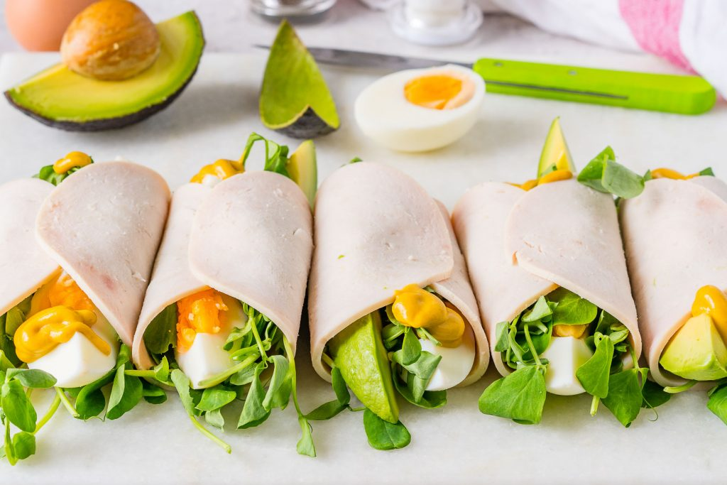 Eat Clean Tangy Turkey Rollups Recipe