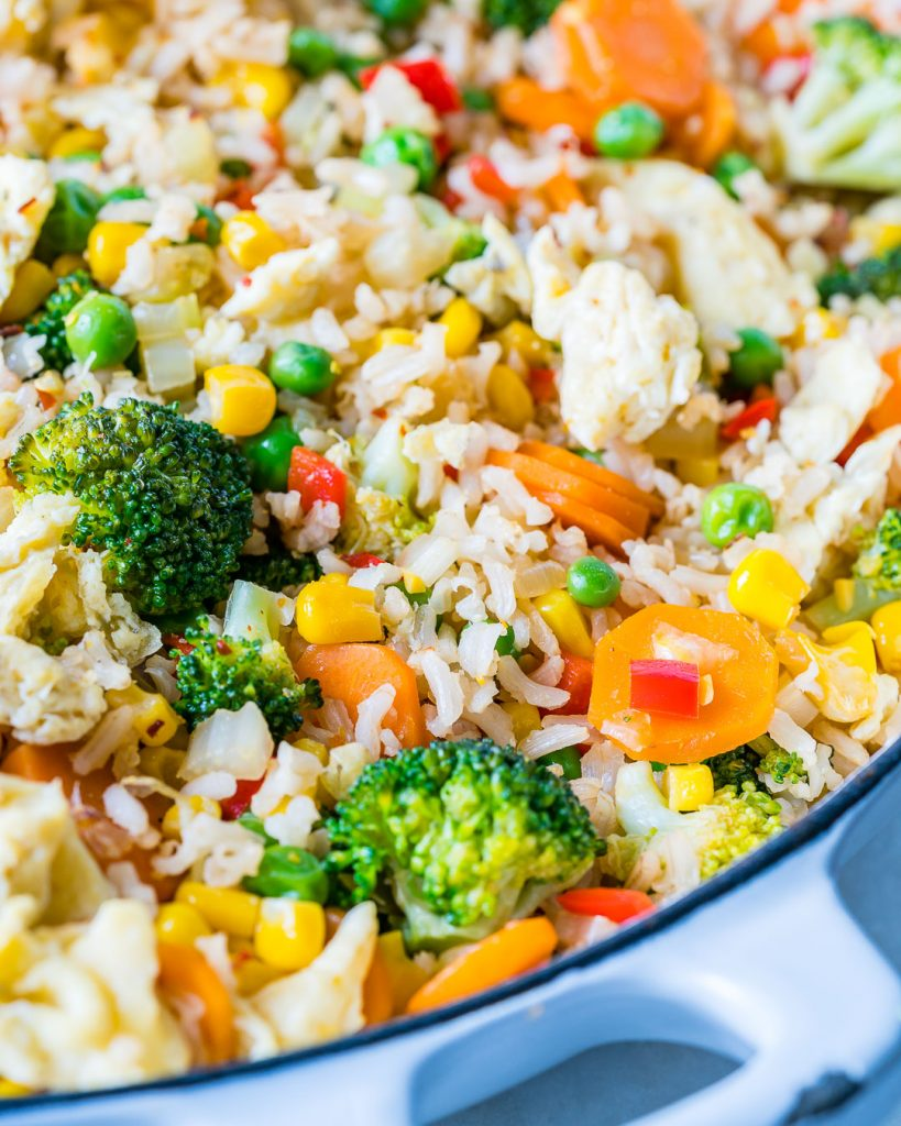 Real Clean Food Veggie Packed Fried Rice