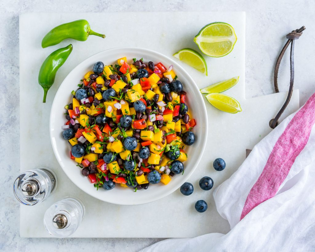 Mango Blueberry Salsa Recipe