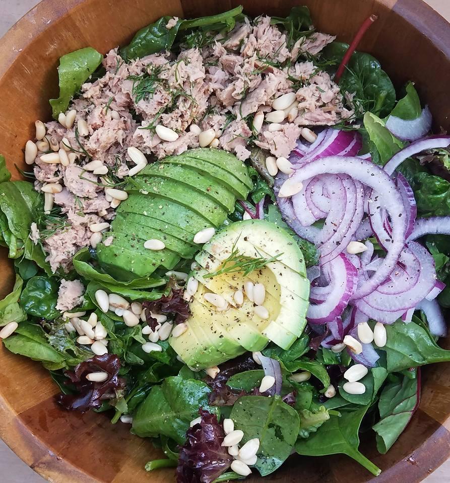 Organic Spring Green Tuna Salad