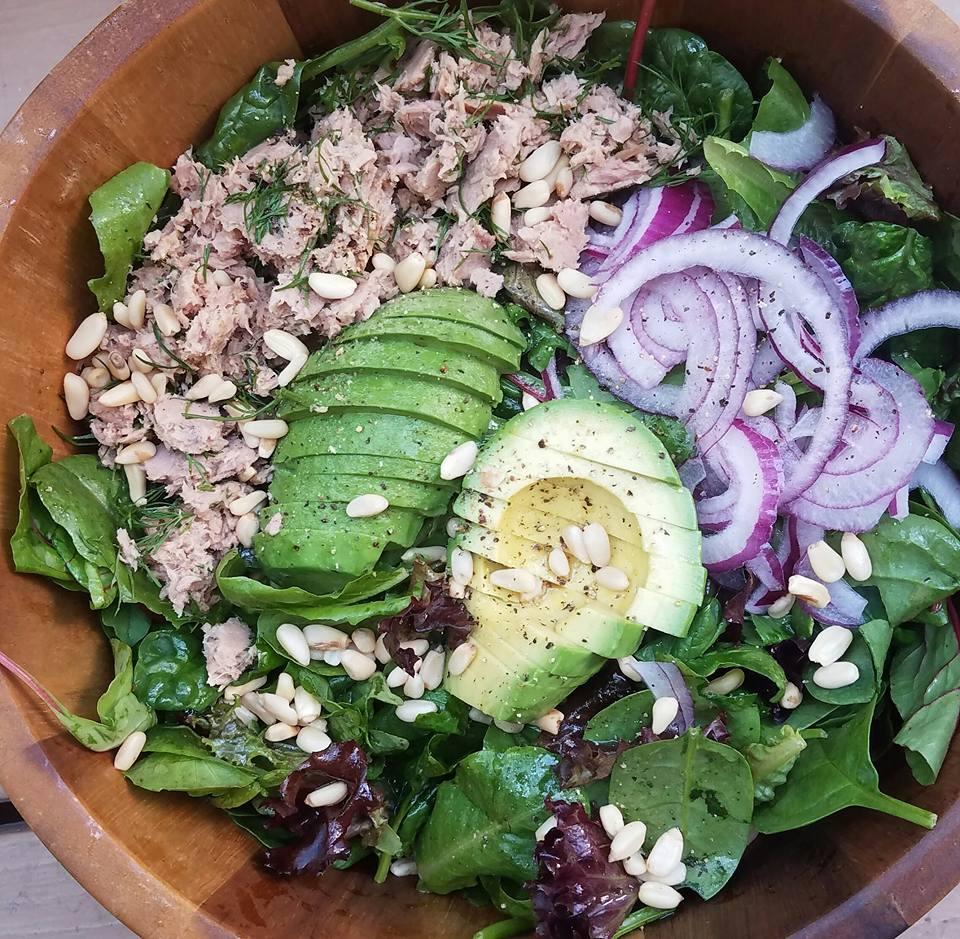 Clean Eating Organic Spring Green Tuna Salad