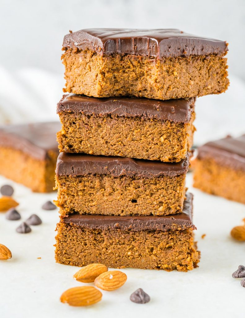 Pumpkin Peanut Butter Brownies
