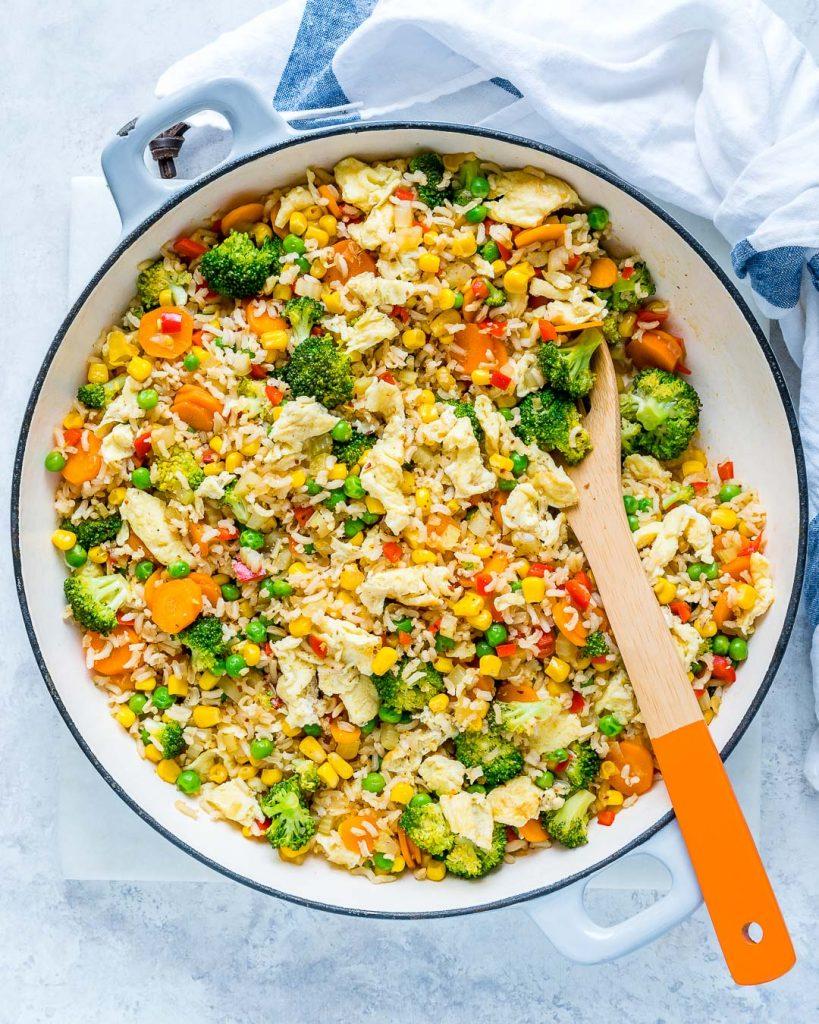 Veggie Packed Fried Rice