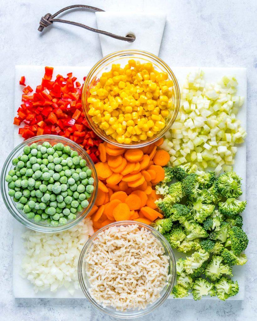 Healthy Veggie Packed Fried Recipe