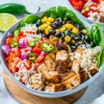 Delicious BBQ Chicken Burrito Bowls Recipe