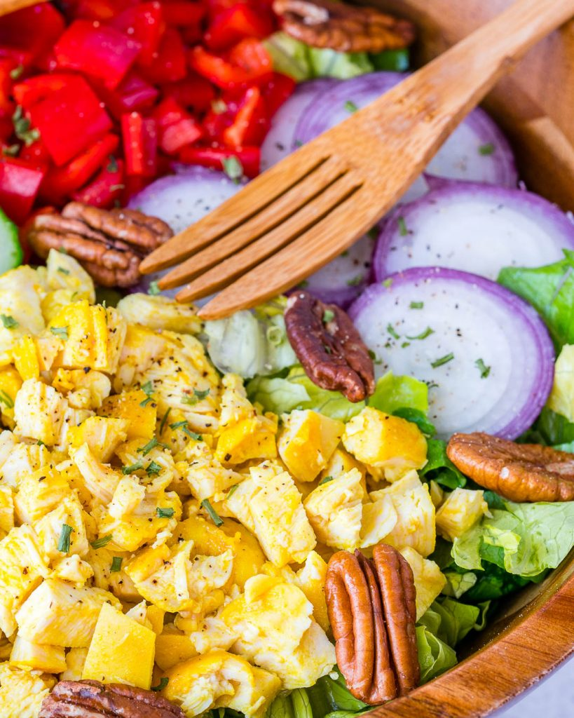 Vibrant Turmeric Chicken Salad
