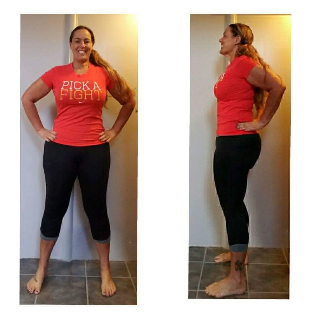 Crissy After 30 Day Clean Eating Challenge