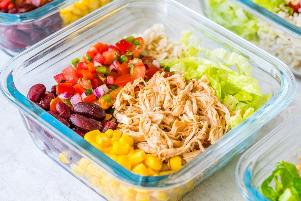 Crockpot Chicken Burrito Bowls Recipe