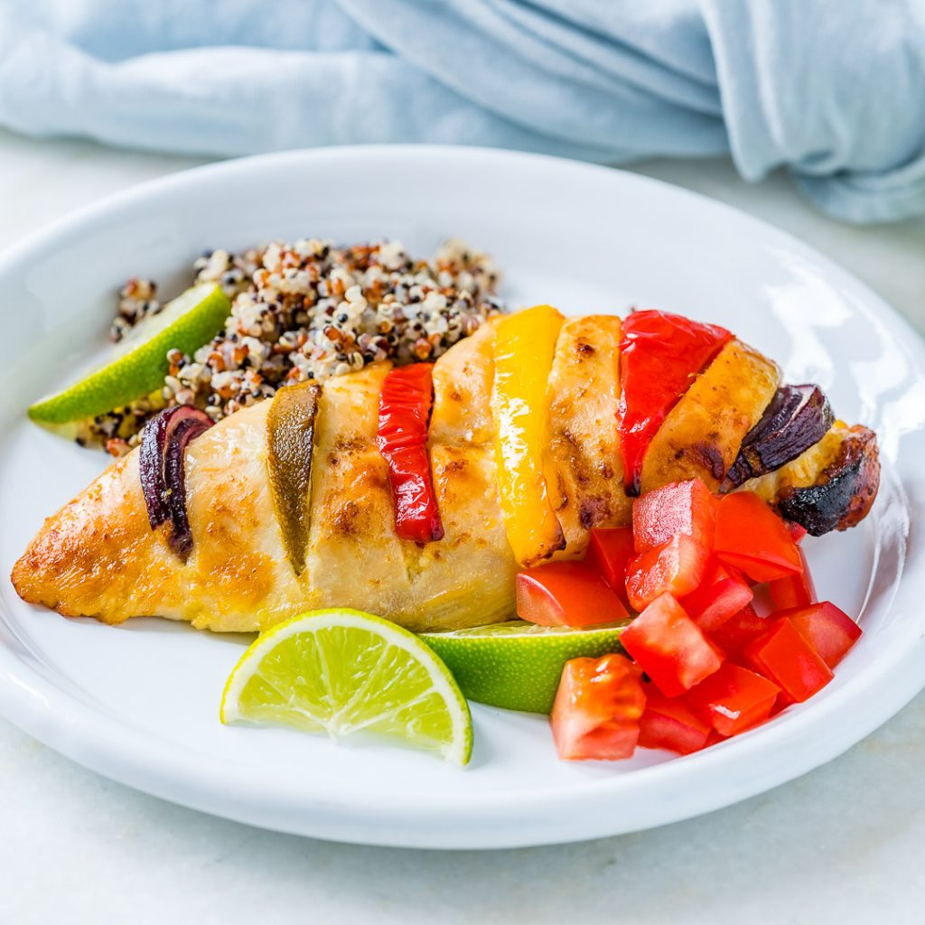 Baked Honey Lime Hasselback Chicken Recipe