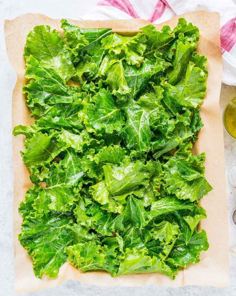 Extra Crispy Garlicy Kale Chips Recipe