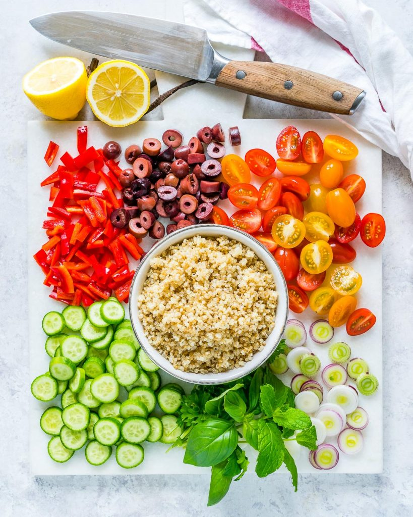 Best Greek Style Quinoa Salad
