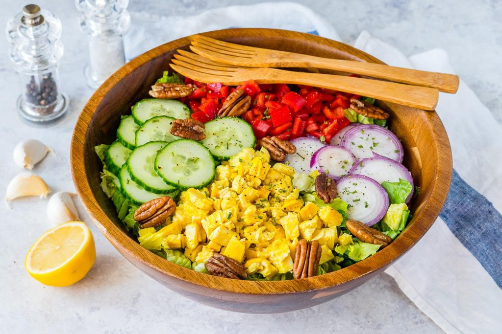 Healthy Turmeric Chicken Salad