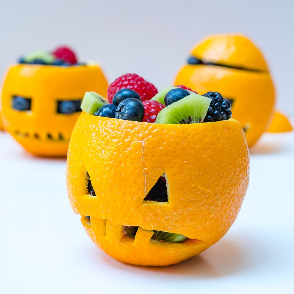 Orange filled Jack-O-Lanterns Recipe