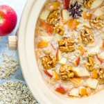 Slow Cooker Apple Pie Oatmeal Clean Eating