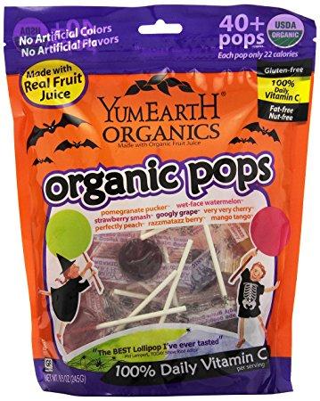 YumEarth Halloween Pops