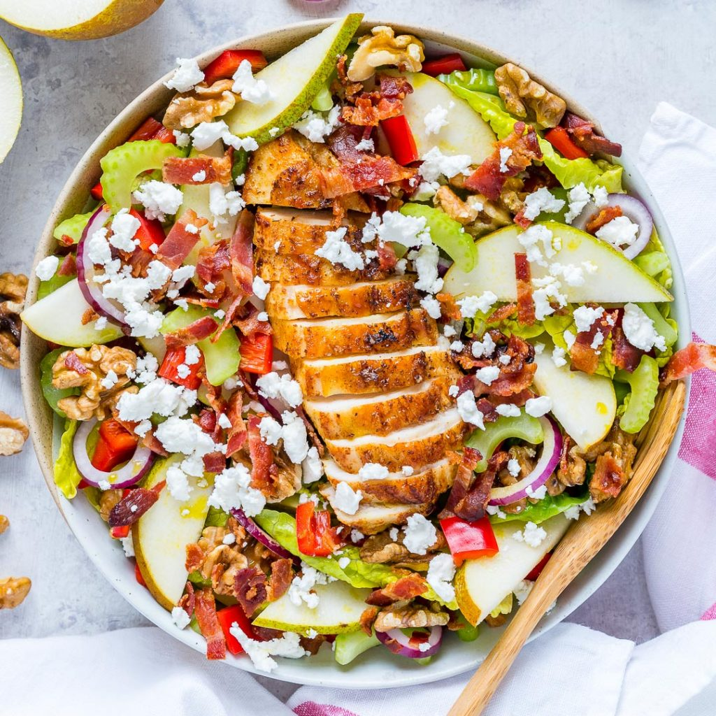 Clean Eating Cheese Chicken Salad
