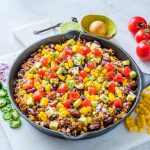 Clean Tex-Mex Hearty Turkey Rice Skillet Recipe