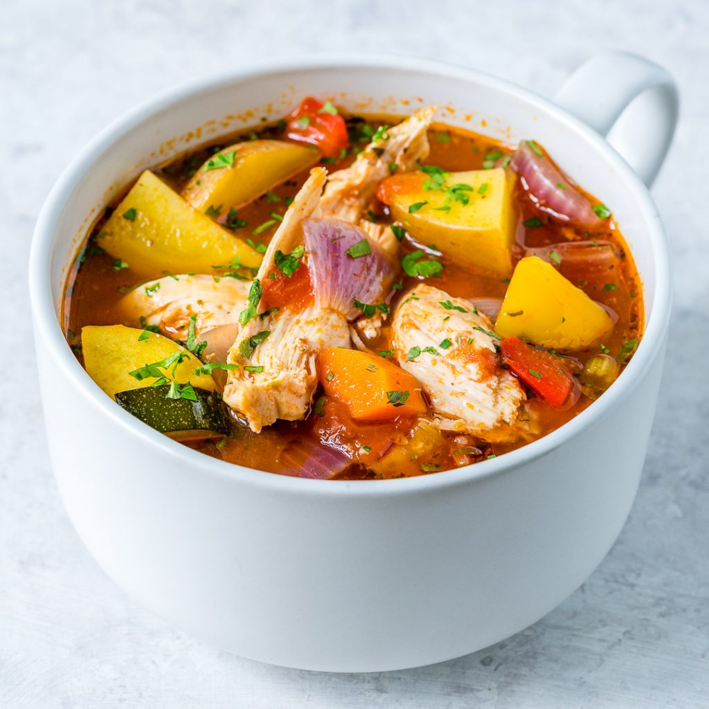Hearty Slow Cooker Chicken Stew Recipe