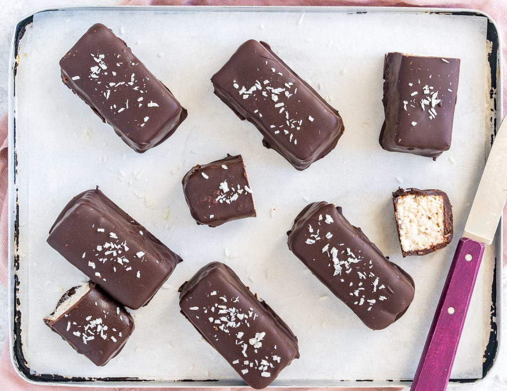 Copycat Bounty Bars Clean Eating Recipe