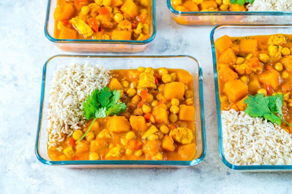 Crockpot Butternut Squash Chicken Curry Recipe