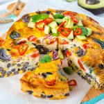 Eat Clean One Pan Mexican Frittata