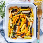 Honey Butter Herb Roasted Carrots CleanFoodCrush
