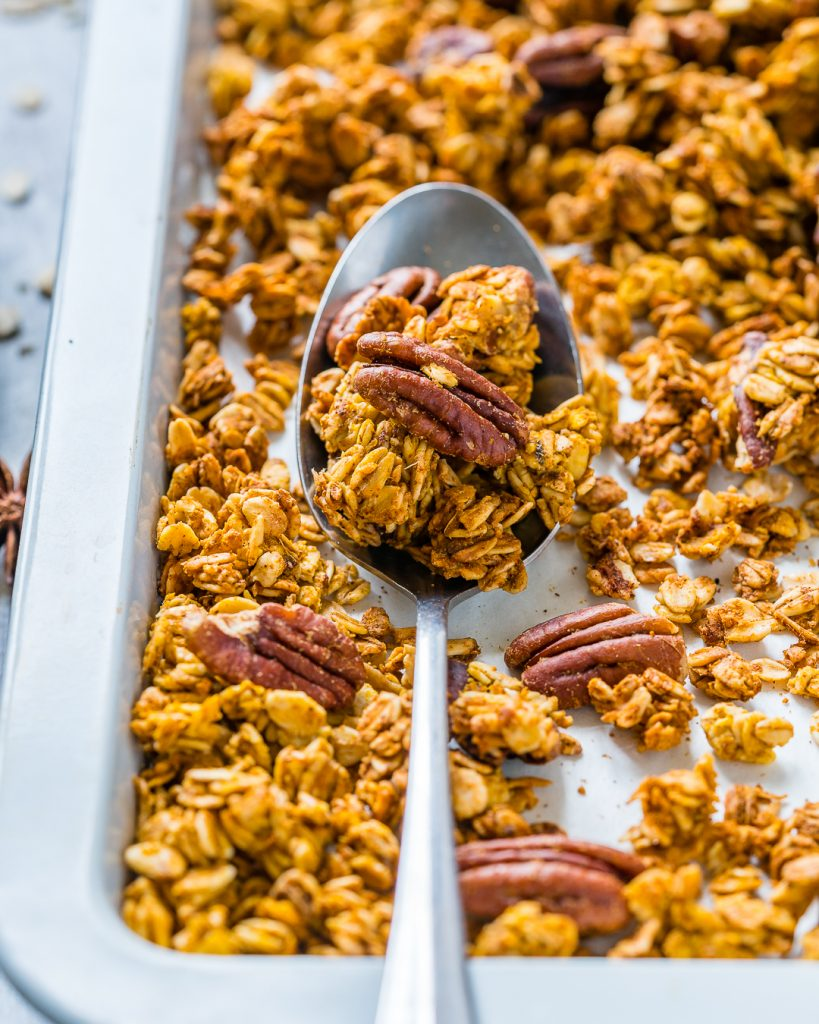 Pumpkin Pie Granola Clean Recipe