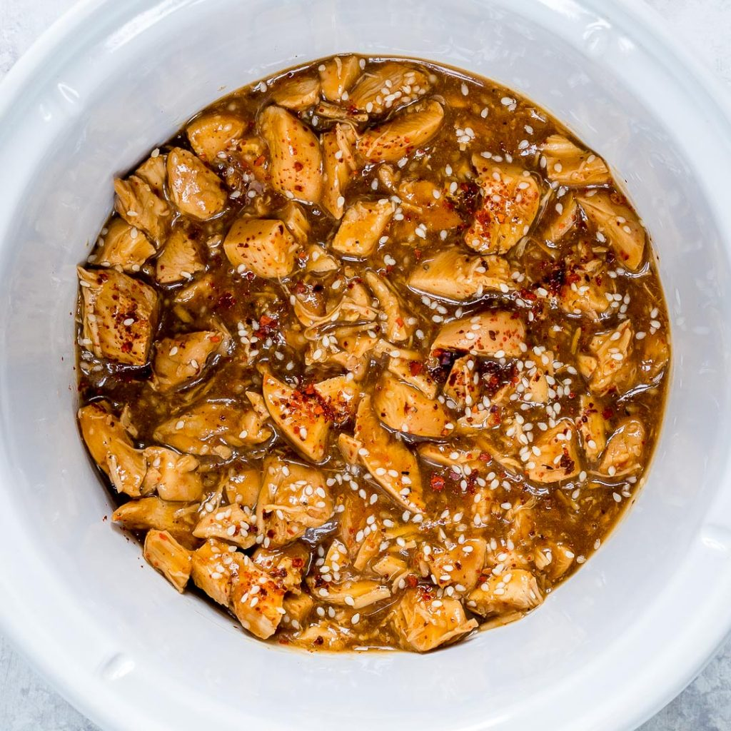 Tangy Crockpot Sesame Chicken Ingredients