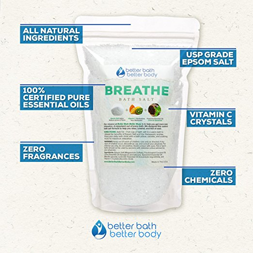 Breathe Bath Salts on Amazon