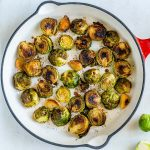Clean Eating Simple 3 Ingredient Roasted Brussels Sprouts